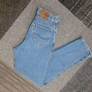Vintage Lee High Waisted Mom Jeans